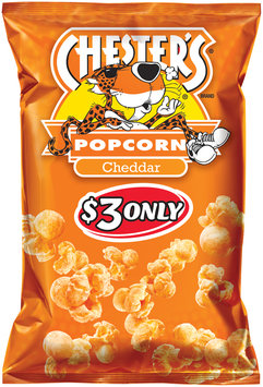 Chester's® Cheddar Popcorn $3 Prepriced 4.5 oz. Bag