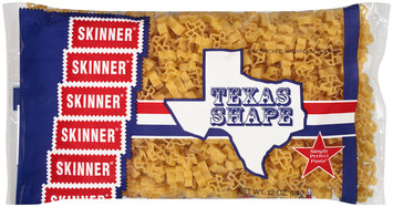 skinner® simply perfect pasta® texas shape