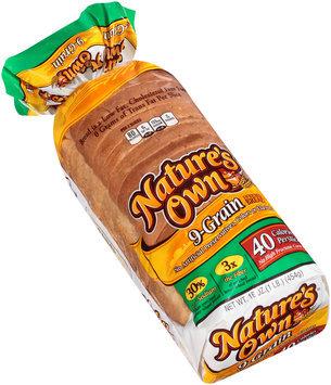 Nature's Own® 9-Grain Enriched Bread 16 oz. Bag