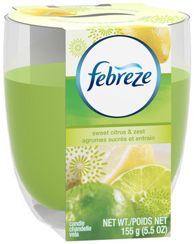 Candle Febreze Candle Sweet Citrus & Zest Air Freshener 5.5 Oz