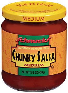 Schnucks® Authentic Mexican Style Medium Chunky Salsa 15.5 oz Jar