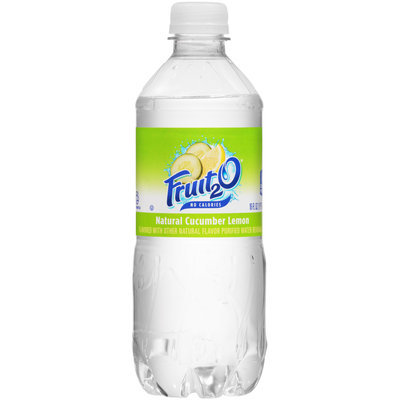 Fruit2O® Natural Cucumber Lemon Purified Water Beverage 16 fl. oz. Bottle