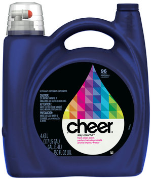 Cheer 2X Ultra Fresh Clean Scent Liquid Laundry Detergent 150 fl. oz. Bottle