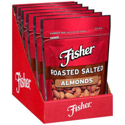 Fisher® Roasted Salted Almonds