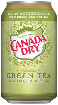 Canada Dry® Green Tea Ginger Ale