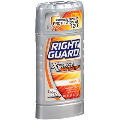 Men's: Right Guard 2.6 oz Invisible Solid Antiperspirant & Deodorant Silver Mirage