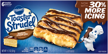 Pillsbury Toaster Strudel™ Boston Cream Pie Toaster Pastries 6 ct Box