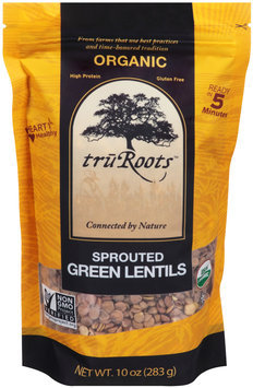TruRoots® Organic Sprouted Green Lentils