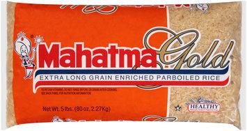 Mahatma Gold® Extra Long Grain Enriched Parboiled Rice® 5 lb. Bag