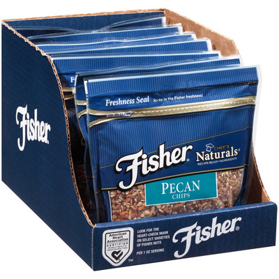 Fisher® Chef's Naturals® Pecan Chips 10 oz. Bag