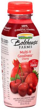 Bolthouse Farms® Multi-V Goodness™ Cherry 100% Fruit Juice Smoothie + Boosts 11 fl. oz. Bottle