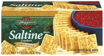 Haggen Saltine Original Crackers 16 Oz Box