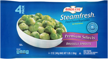 Birds Eye® Steamfresh® Premium Selects Brussels Sprouts 4-12 oz. Bags