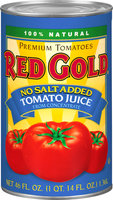Red Gold® No Salt Added Tomato Juice from Concentrate 46 fl. oz. Can