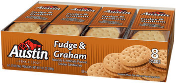 Austin® Fudge & Graham Cracker Sandwiches 8 ct. Tray