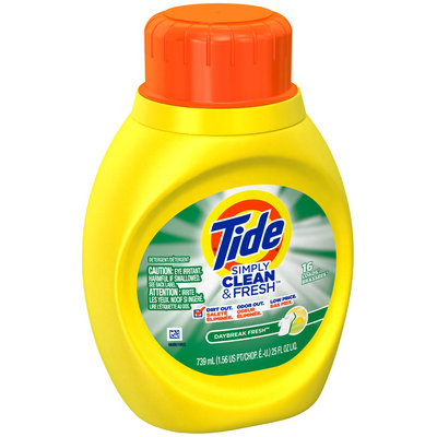 Tide Simply Clean and Fresh Daybreak Fresh Scent Laundry Liquid Detergent 16 loads 25 Fl Oz