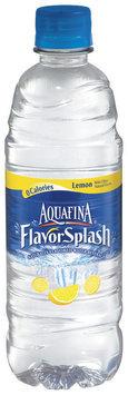 Aquafina® FlavorSplash® Lemon Water Beverage 16.9 fl. oz. Plastic Bottle