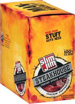 Slim Jim® Steakhouse Crackin' Pepper Tender Steak Strips