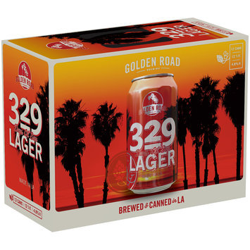 Golden Road Brewing® 329 Days of Sun Lager 12-12 fl. oz. Cans