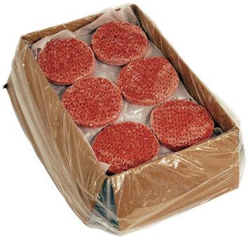 Organic Prairie Food Service Ground 80% Lean 3:1 Beef Patties 15 Lb Box