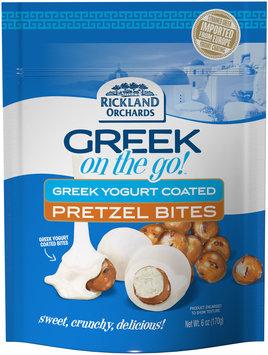 Rickland Orchards™ Greek On The Go!™ Greek Yogurt Coated Pretzel Bites 6 oz. Bag