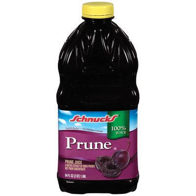 Schnucks Prune 100% Juice 64 Oz Plastic Bottle