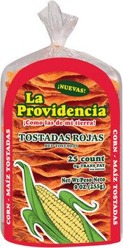 La Providencia™ Red Corn Tostadas 25 ct 9 oz.