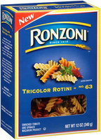 Ronzoni® No. 63 Tricolor Rotini 12 oz. Box