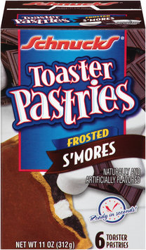 Schnucks® Frosted S'mores Toaster Pastries 6 ct Box