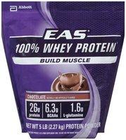 EAS® 100% Whey Protein Chocolate Protein Powder 5 lb. Bag