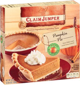 Claim Jumper® Pumpkin Pie 36 oz. Box