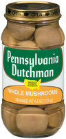Pennsylvania Dutchman Whole Mushrooms 4.5 Oz Jar