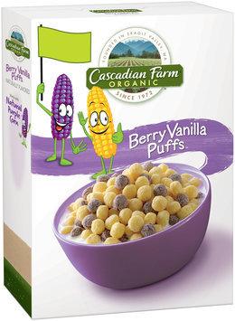 Cascadian Farm® Organic Berry Vanilla Puff Cereal 10.25 oz. Box