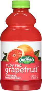 Old Orchard® Ruby Red Grapefruit Juice Cocktail 32 fl. oz. Bottle