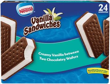 Nestlé Vanilla Frozen Dairy Dessert Sandwiches 24 ct Box