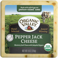 Organic Valley® Pepper Jack Cheese 8 oz. Brick