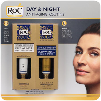 RoC® Retinol Correxion® Day & Night Anti-Aging Routine Cream 2-1.0 fl oz. Pack