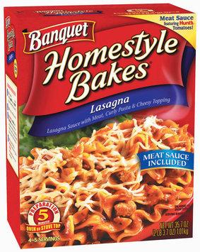 Banquet Homestyle Bakes  Lasagna 35.7 Oz Box