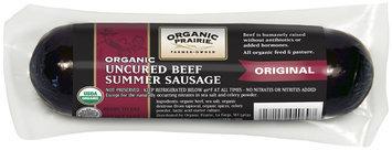 Organic Prairie Organic Uncured Summer Beef Sausage 12 Oz Package