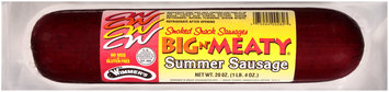 Wimmer's® Big 'N Meaty Smoked Summer Sausage 20 oz. Pack