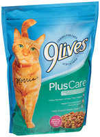 9Lives Plus Care Dry Cat Food, 18-Ounce
