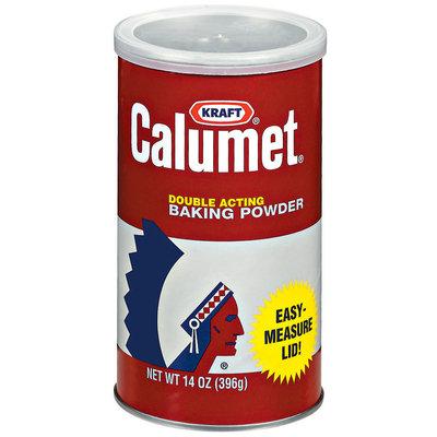 Kraft Baking & Canning Double Acting Calumet Baking Powder 14 Oz Canister