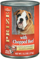 Springfield Prize W/Chopped Beef  Dog Food 13.2 Oz Can