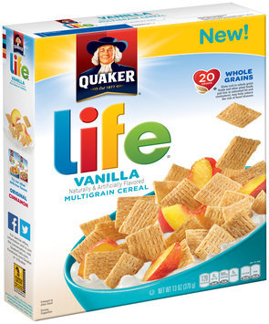 Life® Vanilla Multigrain Cereal 13 oz. Box