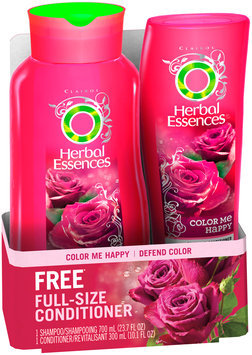 Color Treated Herbal Essences Color Me Happy Hair Shampoo for Color-Treated Hair 23.7 Fl Oz and Conditioner 10.1 Fl Oz
