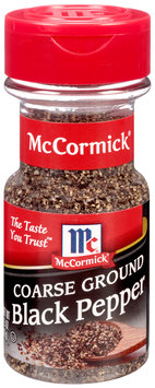 McCormick® Coarse Ground Black Pepper 1.5 oz. Shaker