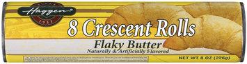 Haggen Flaky Butter Flavor 8 Ct Crescent Rolls 8 Oz Cylinder