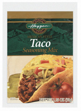 Haggen Mexican Style Taco Seasoning Mix 1.25 Oz Packet