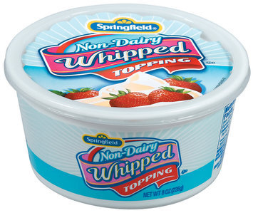 Springfield Non-Dairy Whipped Topping