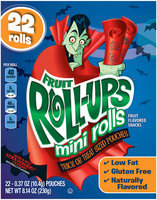 Fruit Roll-Ups™ Mini Rolls Screamin' Strawberry Tattoos Fruit Flavored Snacks